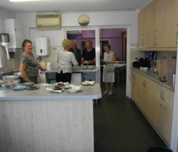 Serving Tea and Cake at the Horticultural Society Rose Show