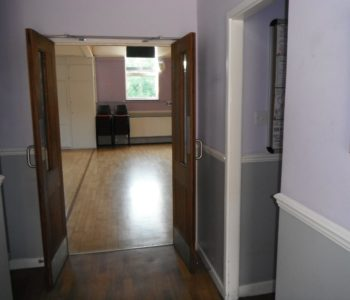 Wide double doors and level floors in main rooms