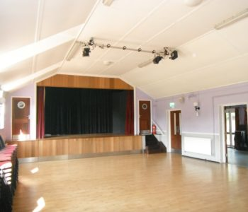 Main hall showing size and space